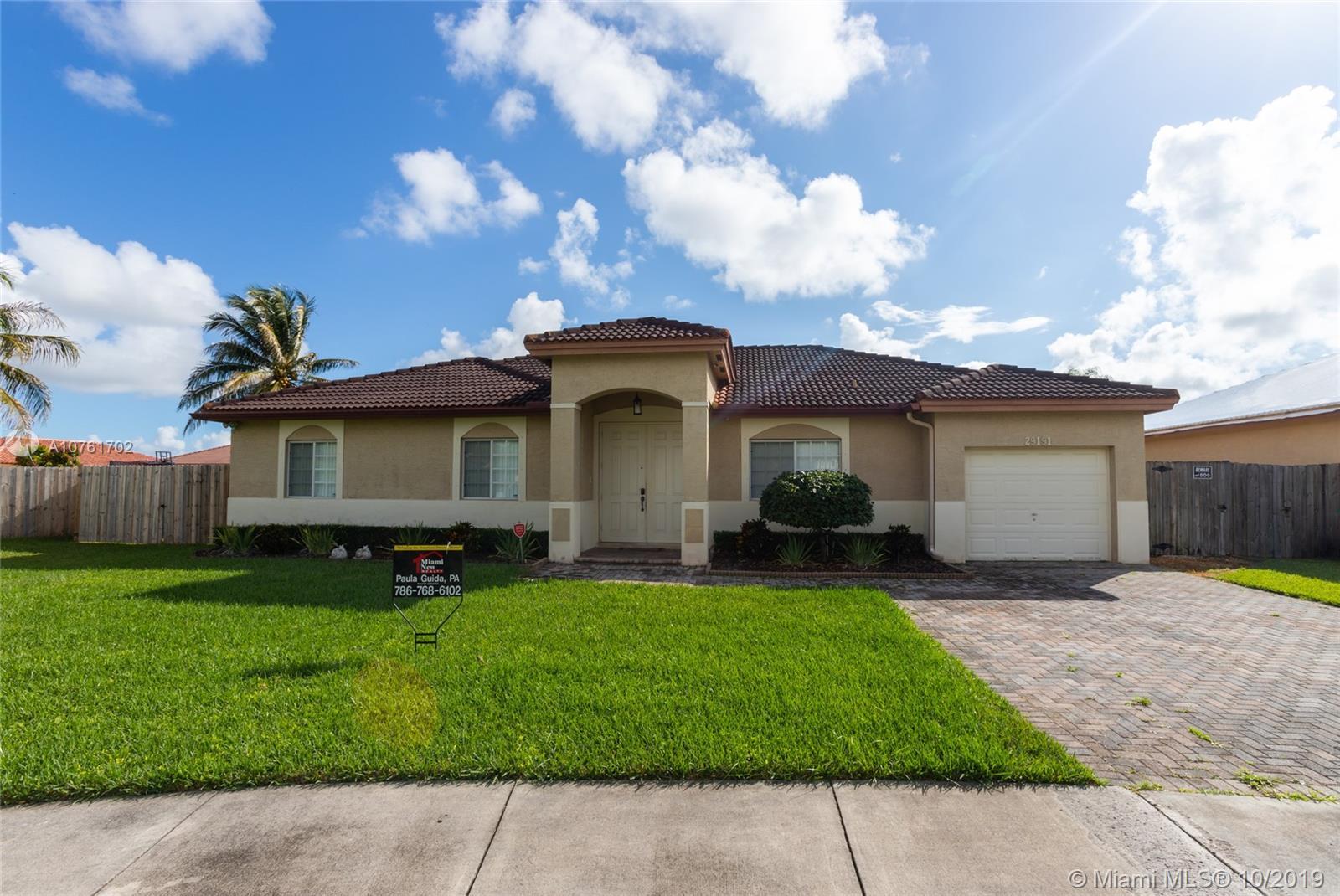 29191 SW 142nd Ct, Homestead, FL 33033 - Homestead, FL real estate listing