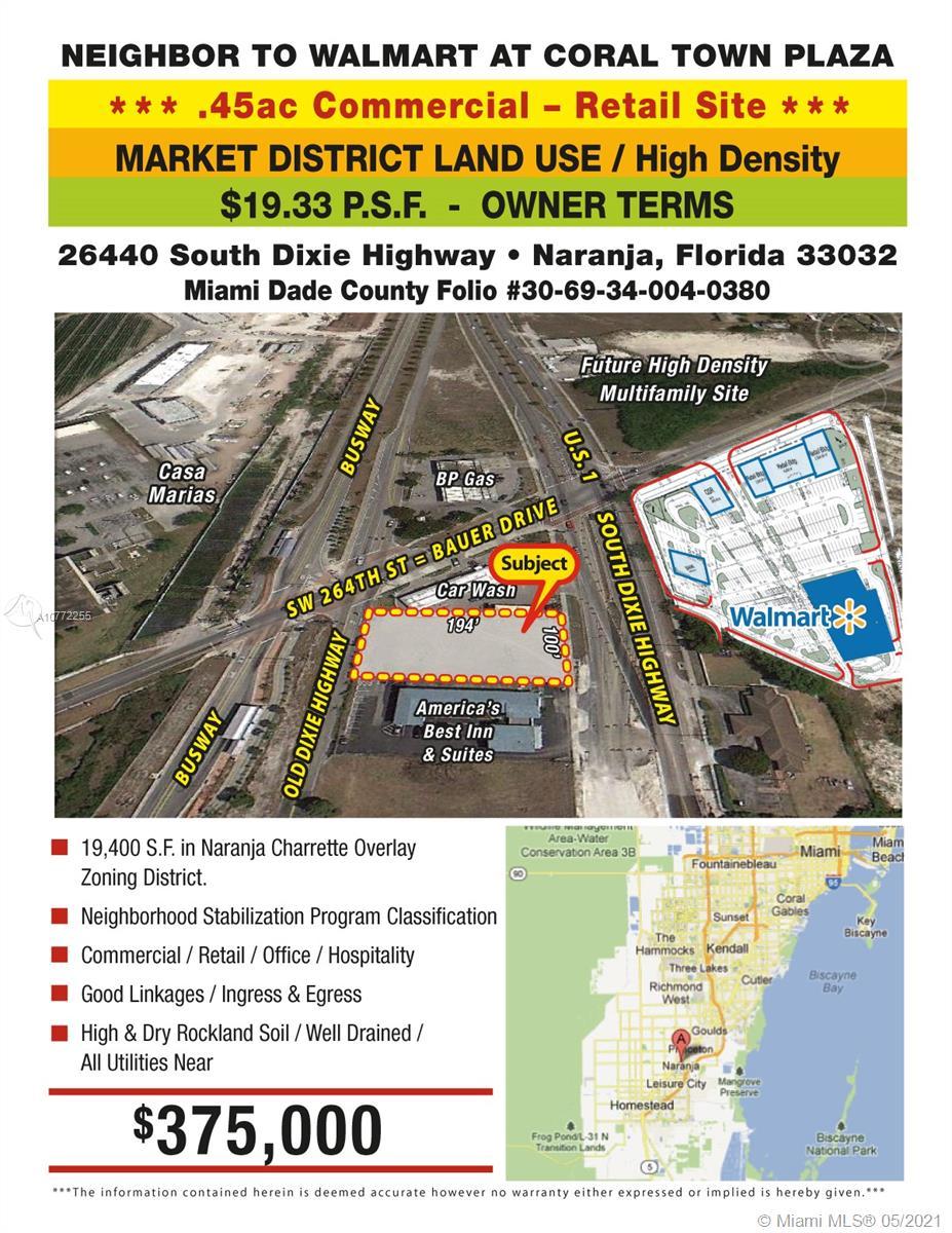 26440 S DIXIE HWY Property Photo - Naranja, FL real estate listing