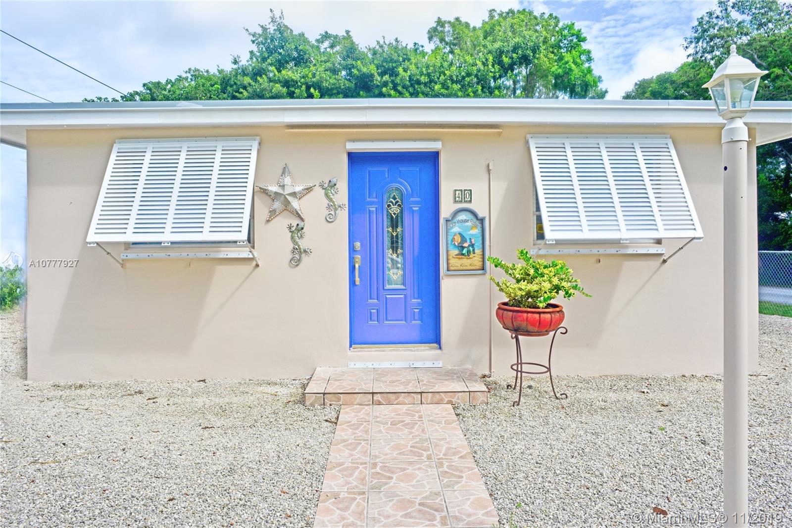 40 Transylvania Ave, Other City - Keys/Islands/Caribb, FL 33037 - Other City - Keys/Islands/Caribb, FL real estate listing