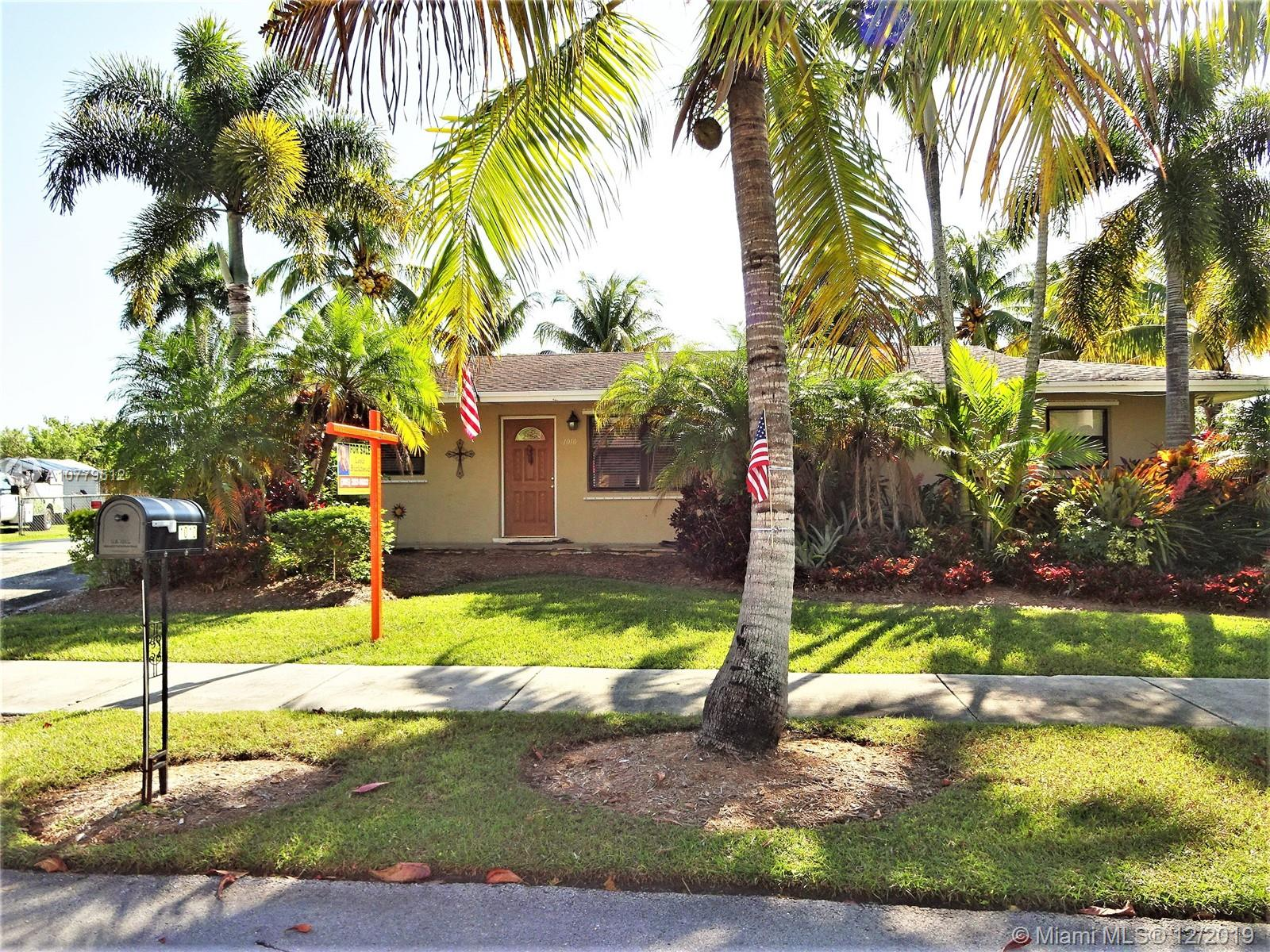 1010 NW 19th St, Homestead, FL 33030 - Homestead, FL real estate listing