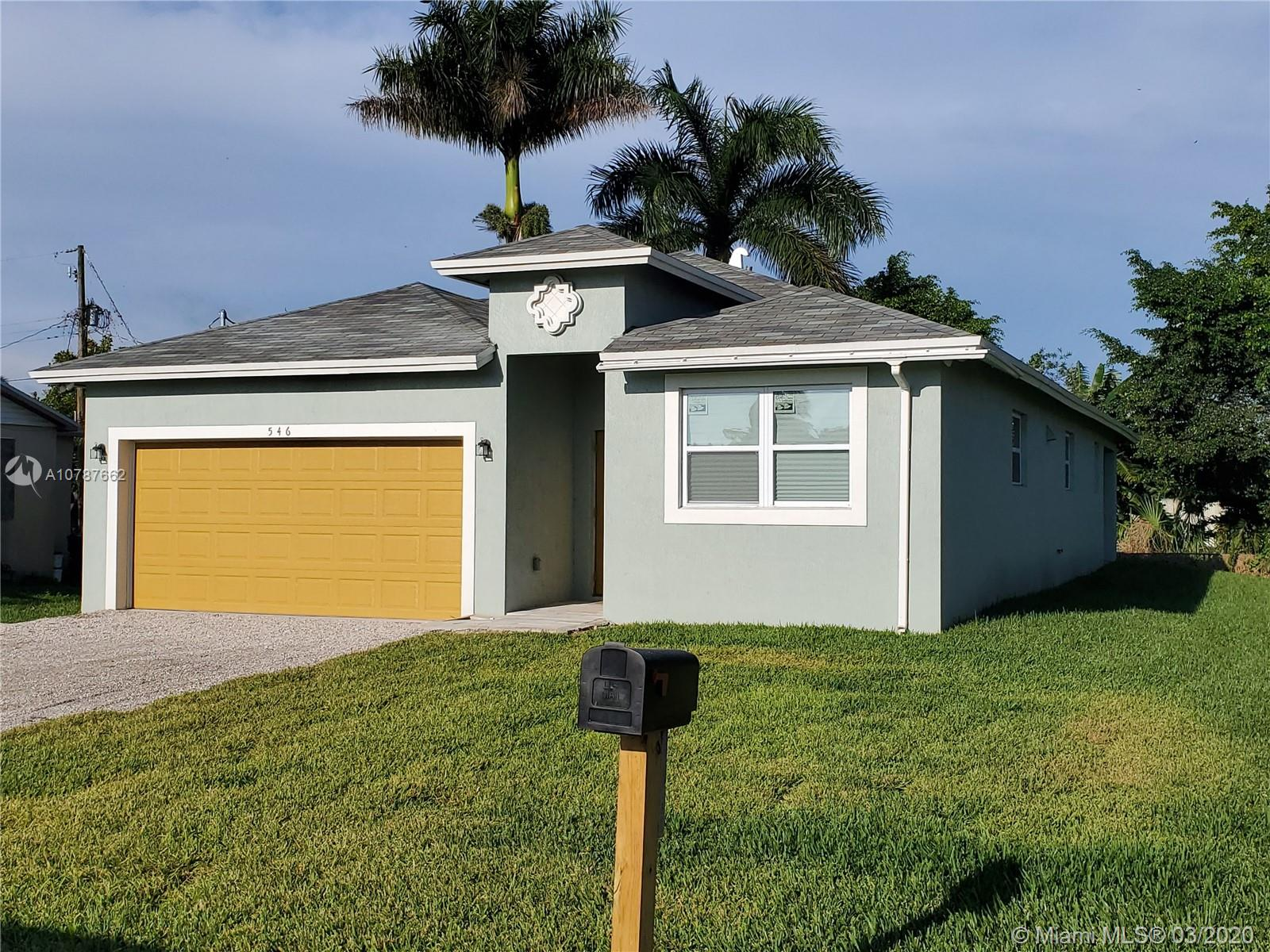 546 SE 6th Drive, Belle Glade, FL 33430 - Belle Glade, FL real estate listing