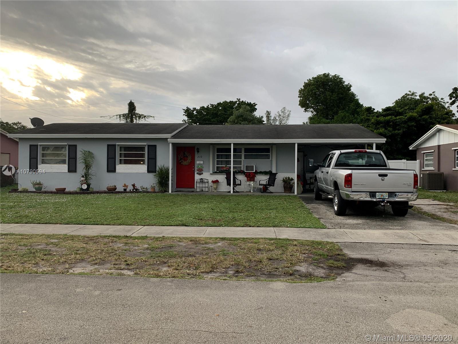 310 N 71st Ave, Hollywood, FL 33024 - Hollywood, FL real estate listing