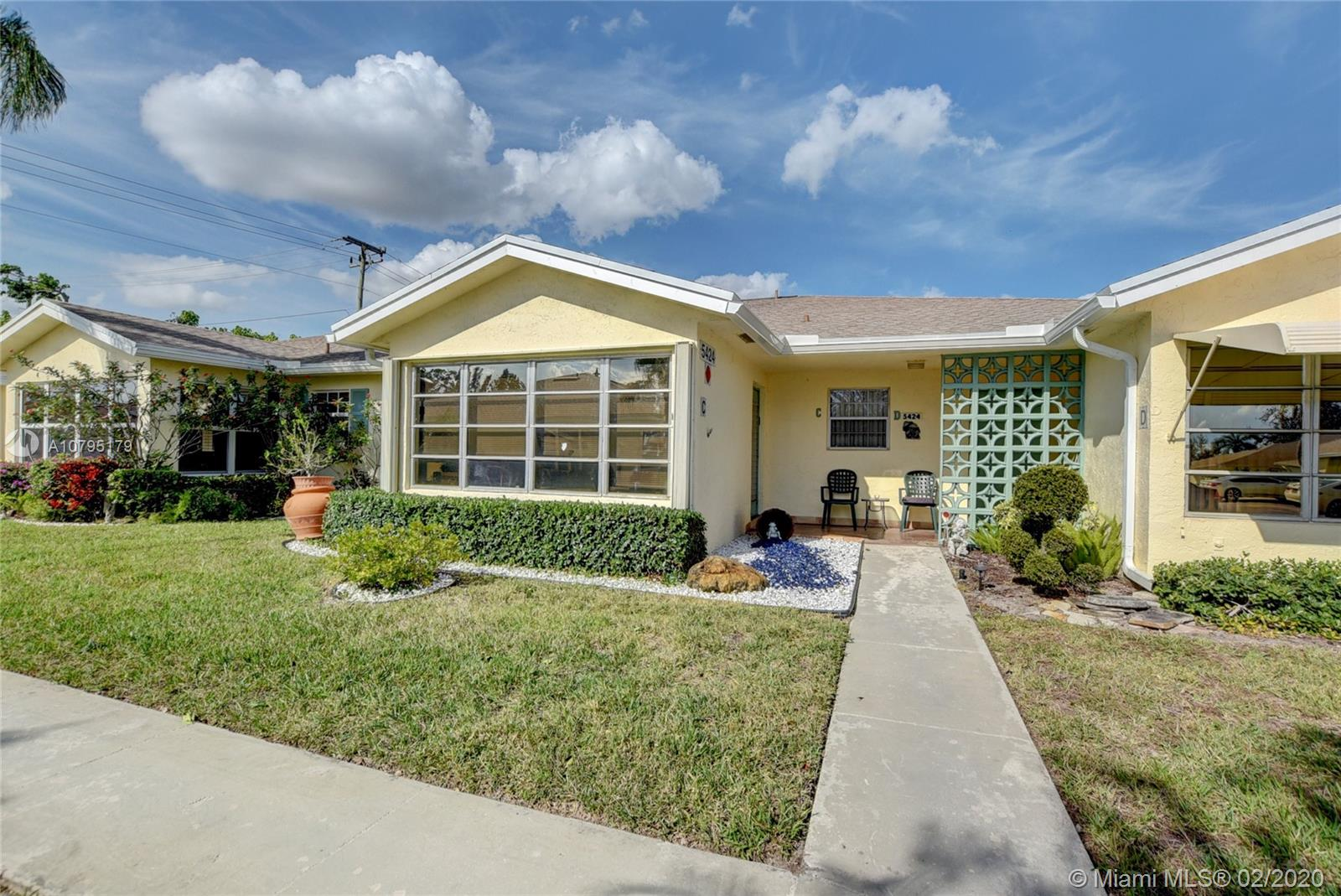 5424 Lakefront Blvd #C Property Photo - Delray Beach, FL real estate listing