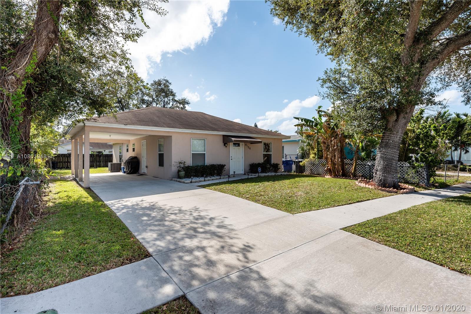 6126 Wiley St, Hollywood, FL 33023 - Hollywood, FL real estate listing