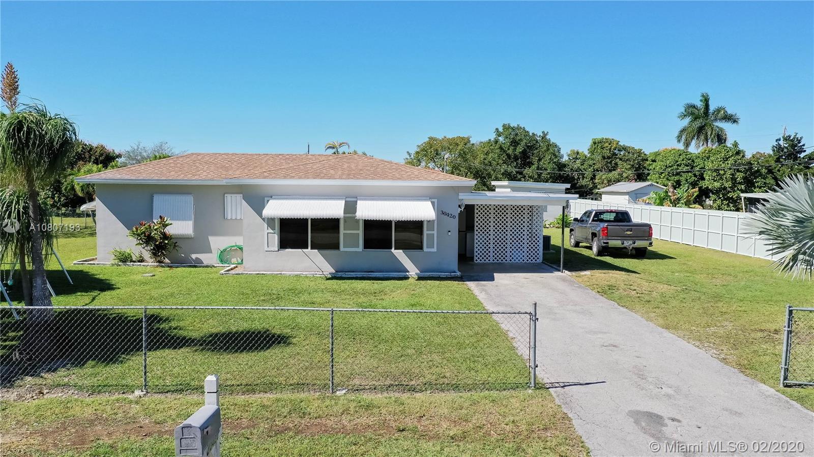 30420 SW 193 Ct, Homestead, FL 33030 - Homestead, FL real estate listing
