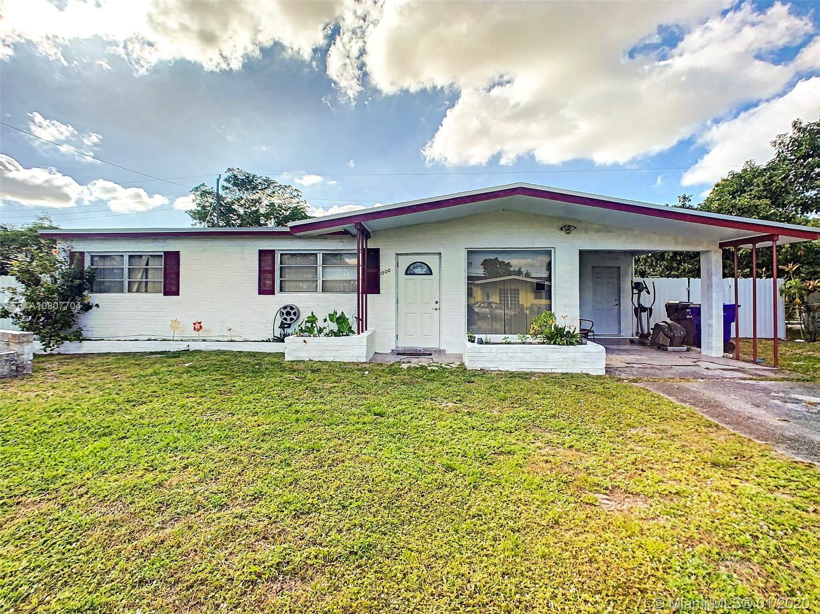 1500 N 67th Ter, Hollywood, FL 33024 - Hollywood, FL real estate listing