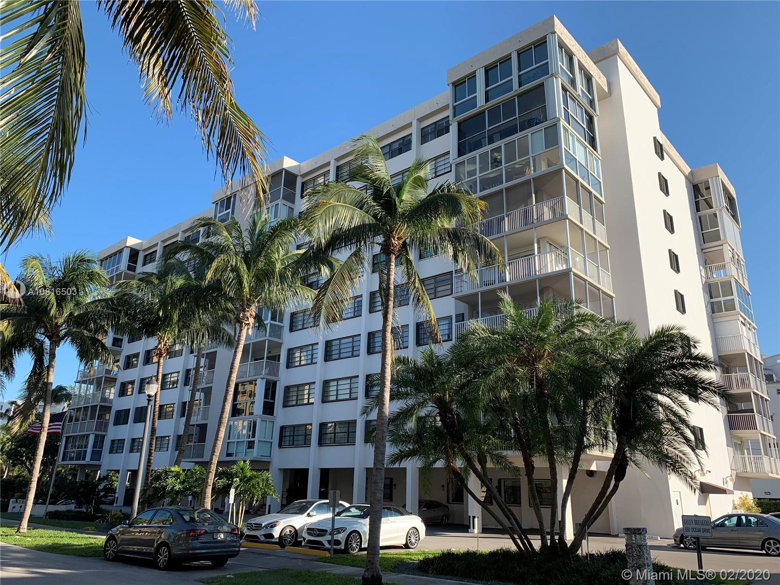 550 Ocean Drive #2d Property Photo