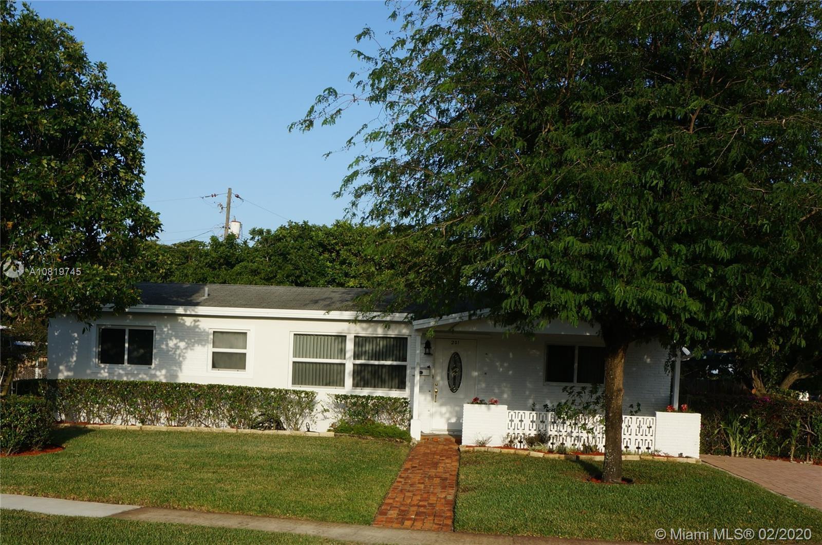 201 N 69th Way, Hollywood, FL 33024 - Hollywood, FL real estate listing