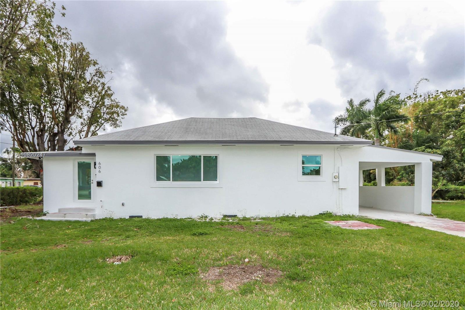 606 NW 4th St Property Photo - Homestead, FL real estate listing
