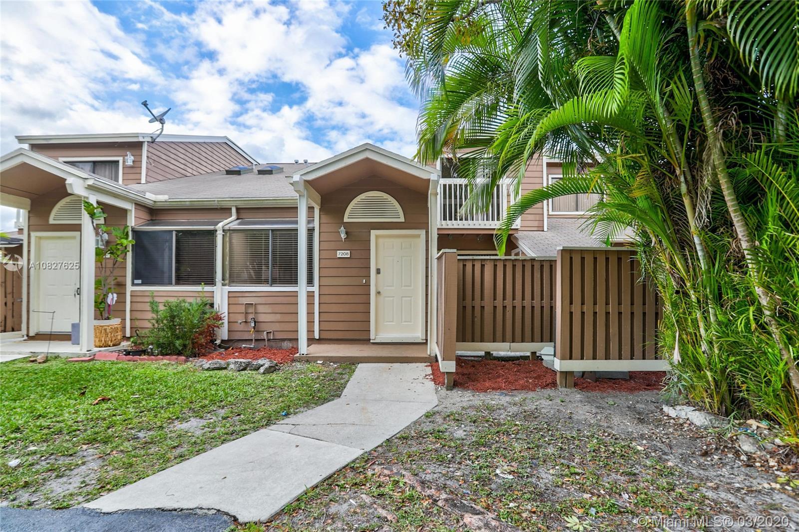 7208 Sportsmans Dr #7208, North Lauderdale, FL 33068 - North Lauderdale, FL real estate listing