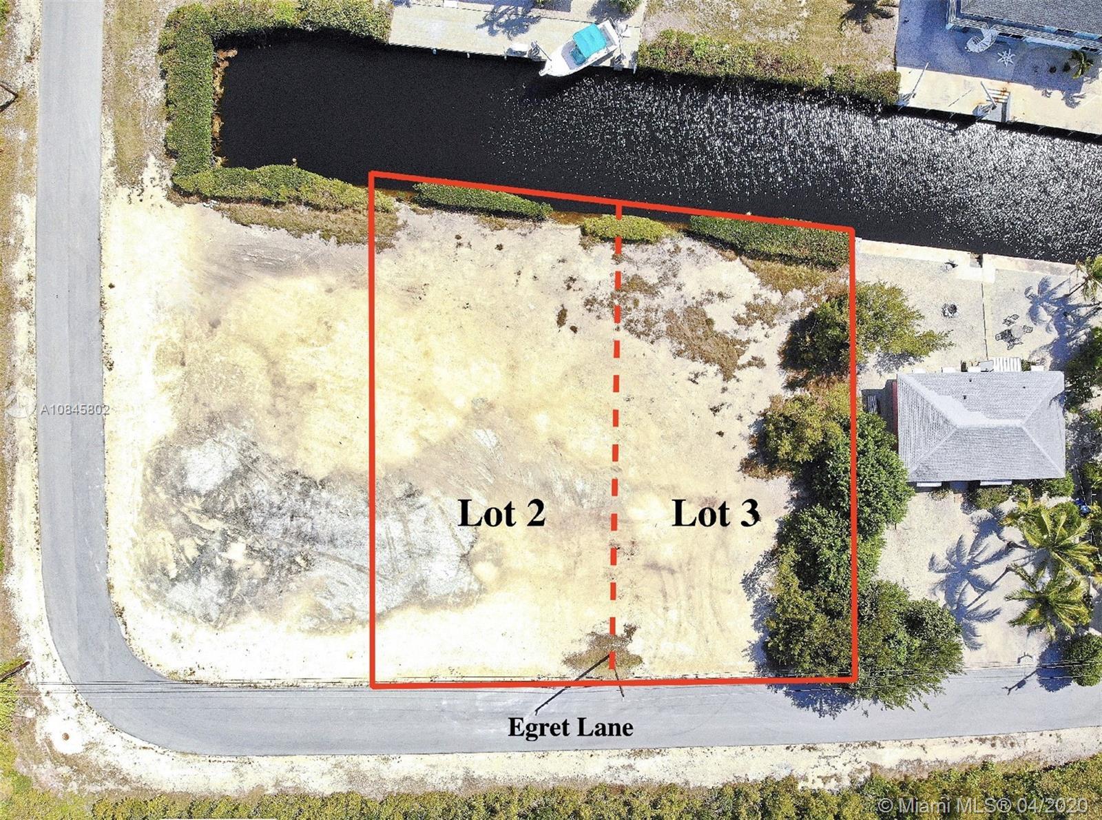 Lots 2 & 3 Egret Ln Property Photo - Big Pine, FL real estate listing