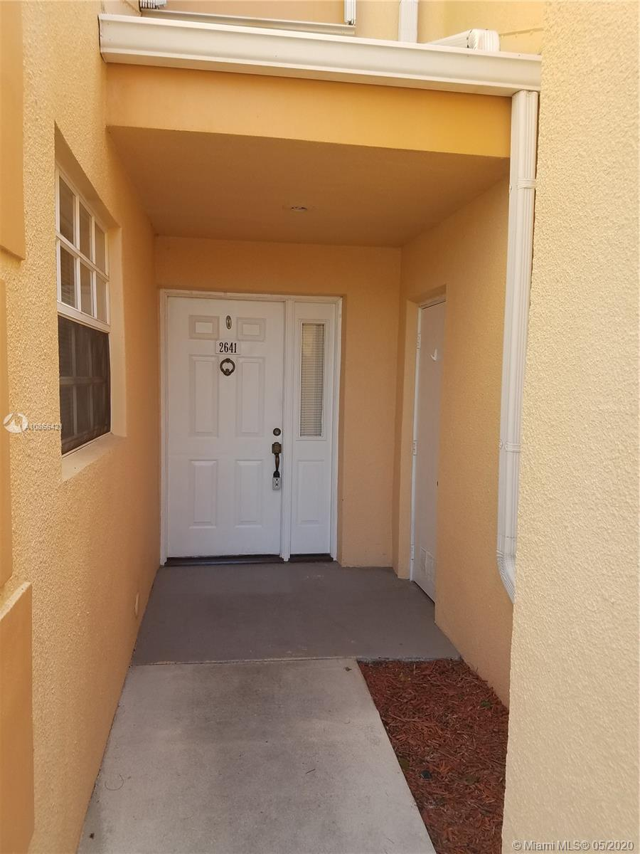 2641 SE 19th Ct #102-D Property Photo - Homestead, FL real estate listing