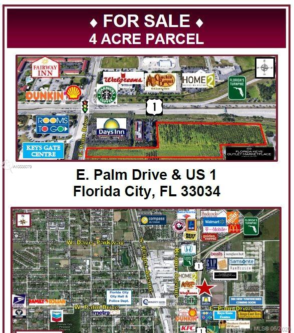 E Palm Drive Property Photo - Florida City, FL real estate listing