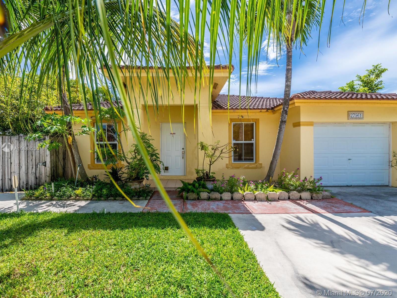 27961 SW 134th Pl Property Photo - Homestead, FL real estate listing