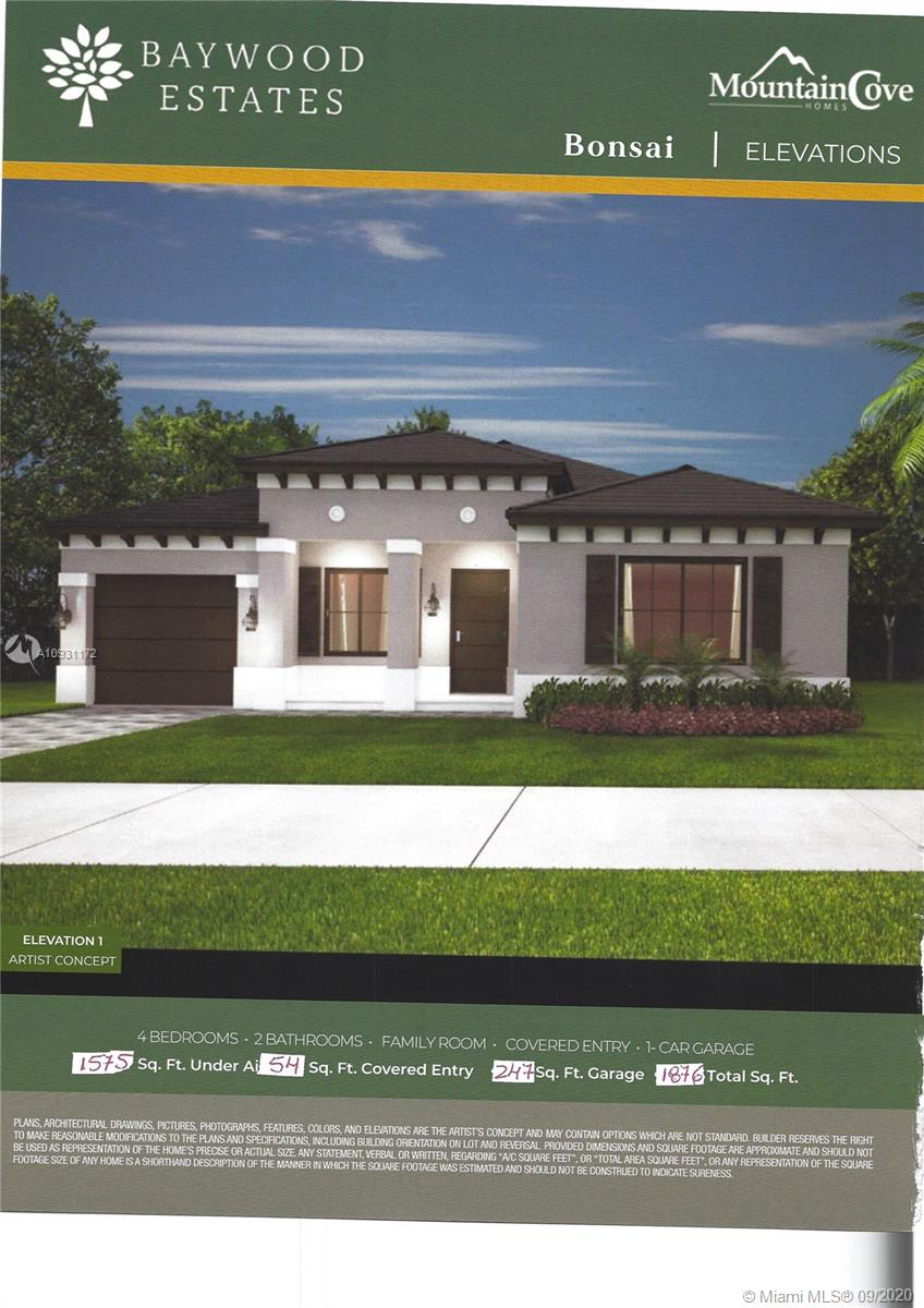 15751 SW 299th St Property Photo - Homestead, FL real estate listing