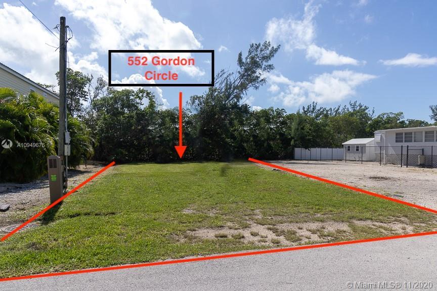 552 Gordon Cir Property Photo - Key Largo, FL real estate listing