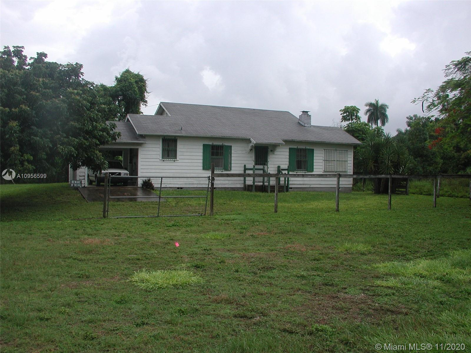 17895 SW 296th St Property Photo - Homestead, FL real estate listing