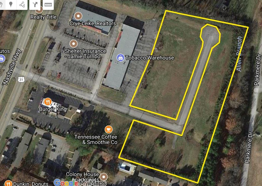 0 Commerce Court N Property Photo - Columbia, TN real estate listing