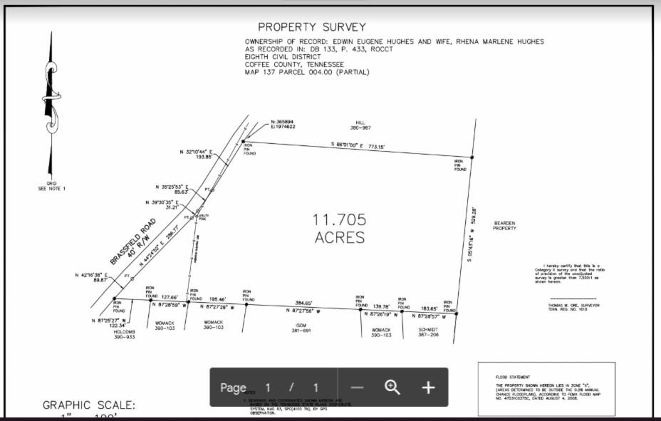 0 Brassfield Rd, Hillsboro, TN 37342 - Hillsboro, TN real estate listing