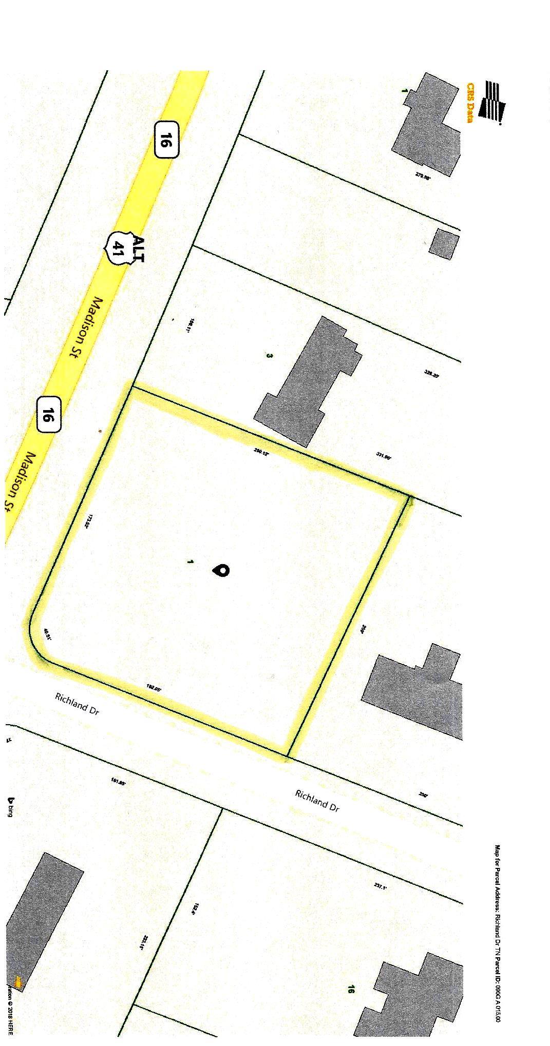 0 Richland Dr., Shelbyville, TN 37160 - Shelbyville, TN real estate listing