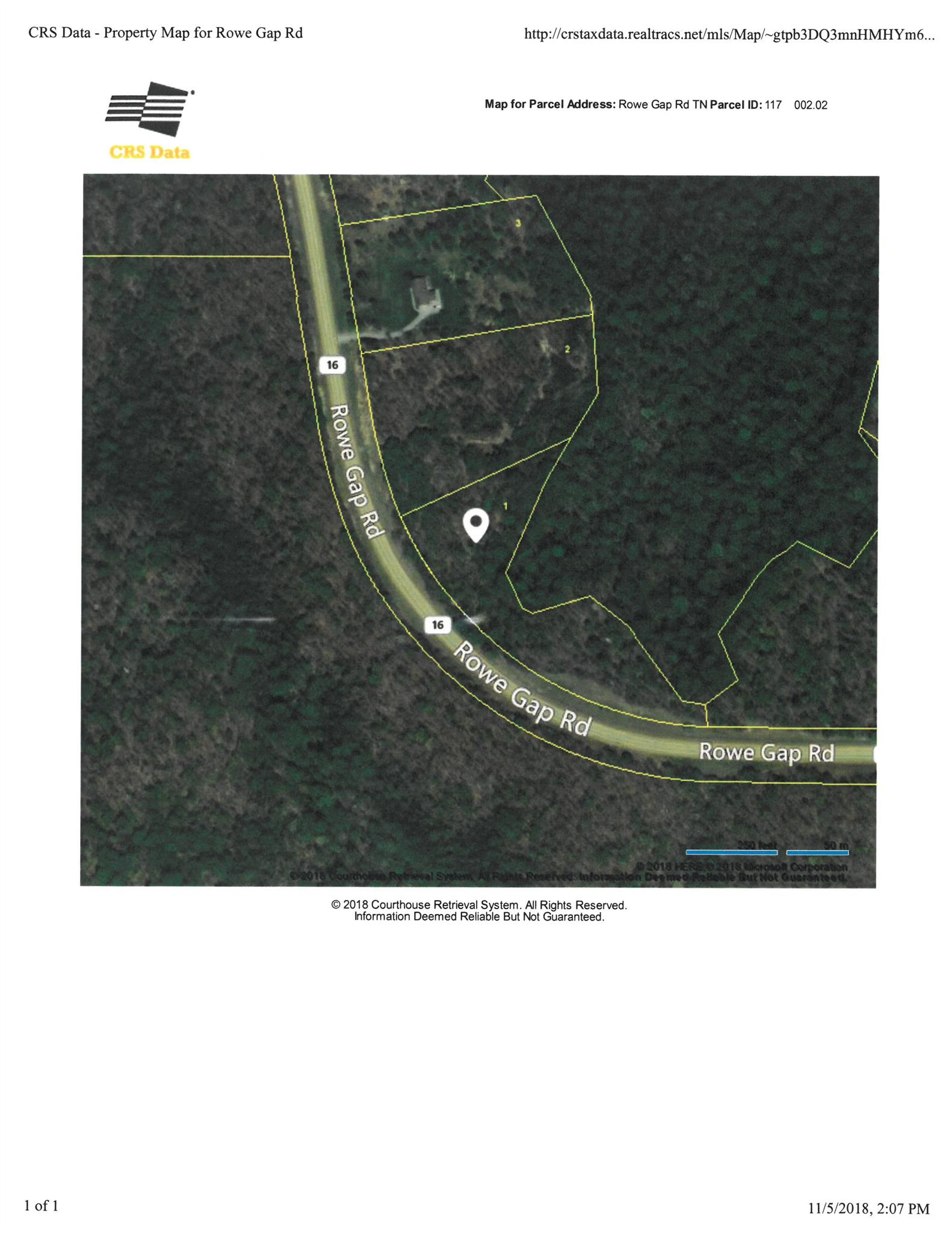 0 Rowe Gap Rd Property Photo - Belvidere, TN real estate listing