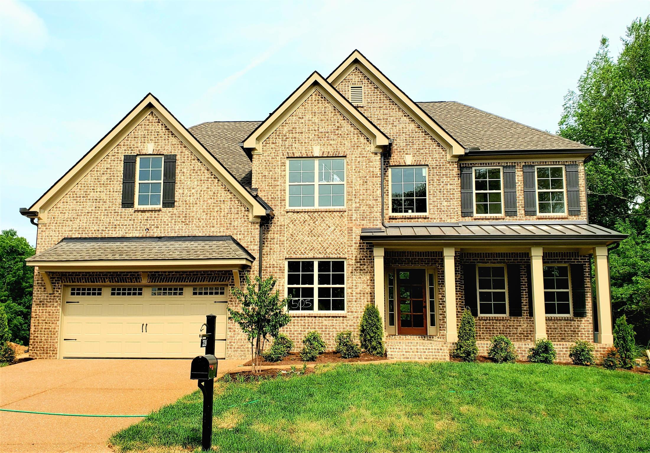 239 Rock Cress Rd (Lot #505), Nolensville, TN 37135 - Nolensville, TN real estate listing