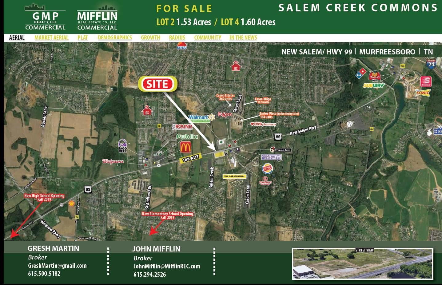 0 New Salem Hwy Property Photo - Murfreesboro, TN real estate listing