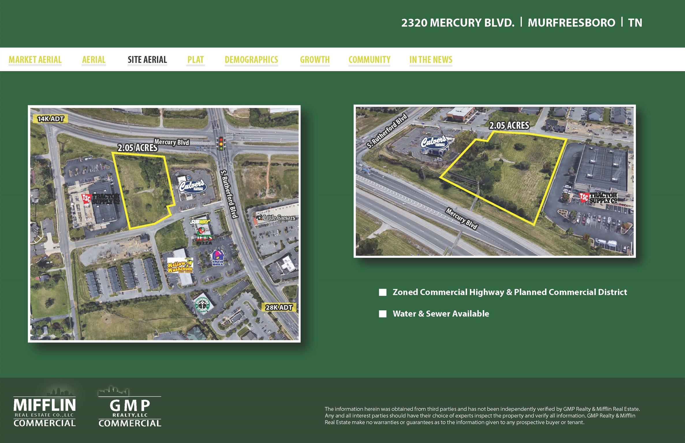0 Mercury Blvd Property Photo - Murfreesboro, TN real estate listing