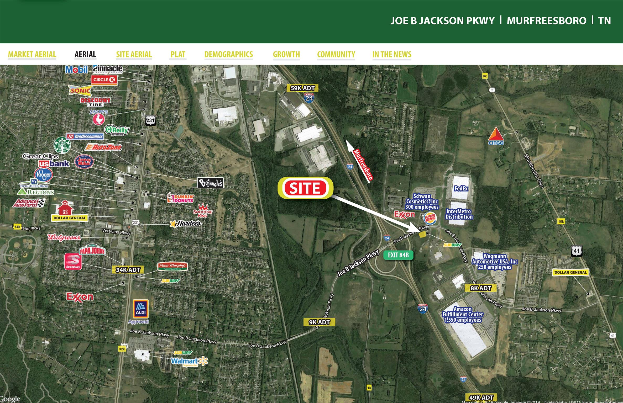 0 Joe B Jackson Pkwy Property Photo - Murfreesboro, TN real estate listing