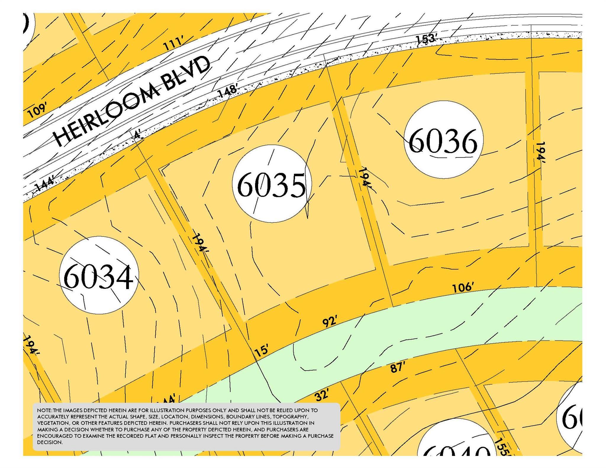 8460 Heirloom Blvd (Lot 6035), College Grove, TN 37046 - College Grove, TN real estate listing