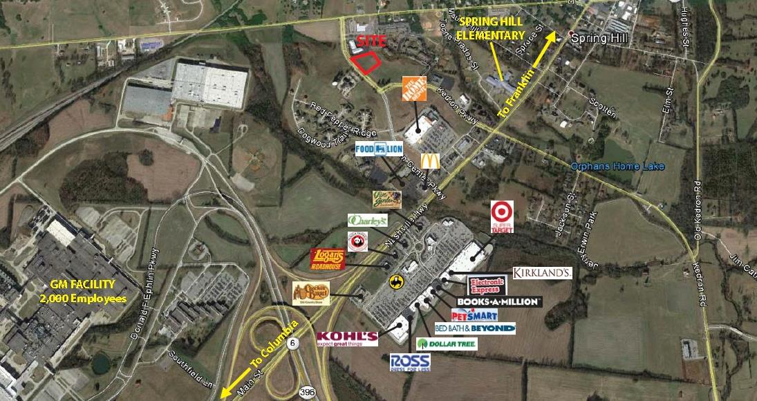216 Town Center Pkwy Property Photo - Spring Hill, TN real estate listing