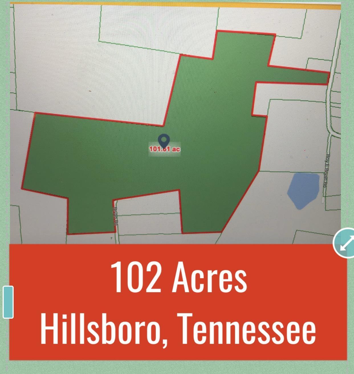 0 Simmons Rd (102 acres), Hillsboro, TN 37342 - Hillsboro, TN real estate listing
