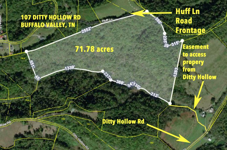 107 Ditty Hollow Rd, Buffalo Valley, TN 38548 - Buffalo Valley, TN real estate listing