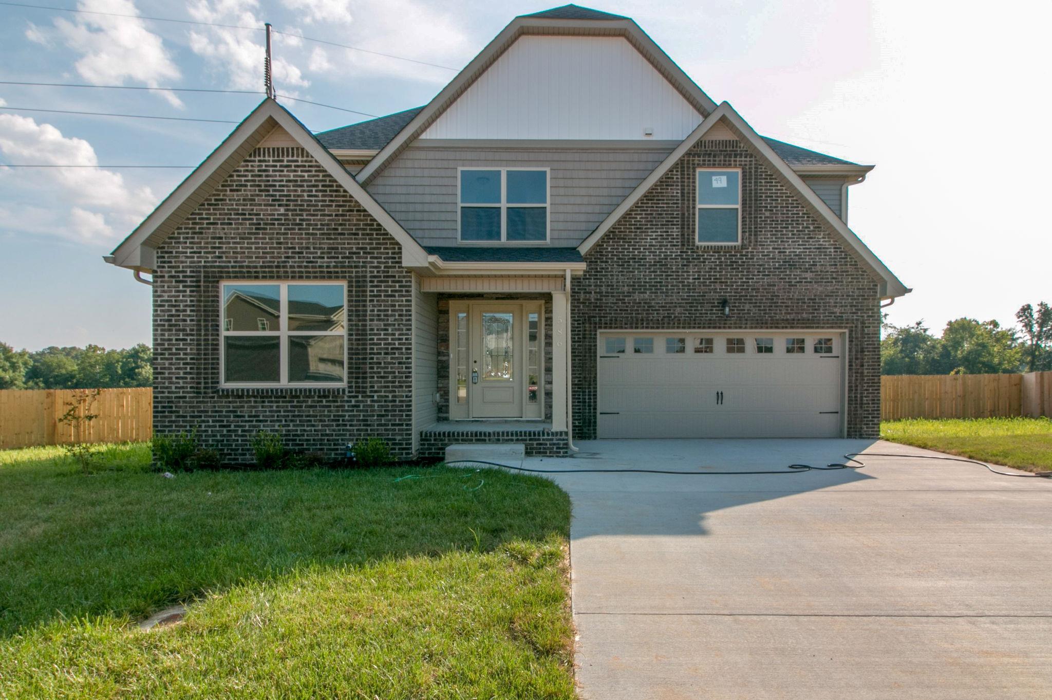 586 Silver Oak Court, Lot49, Clarksville, TN 37042 - Clarksville, TN real estate listing