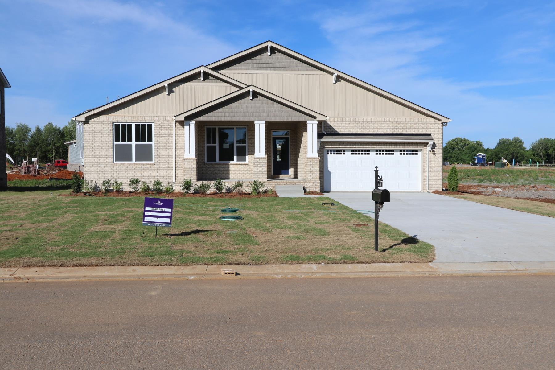417 Davenport Drive Lot 17, Murfreesboro, TN 37128 - Murfreesboro, TN real estate listing