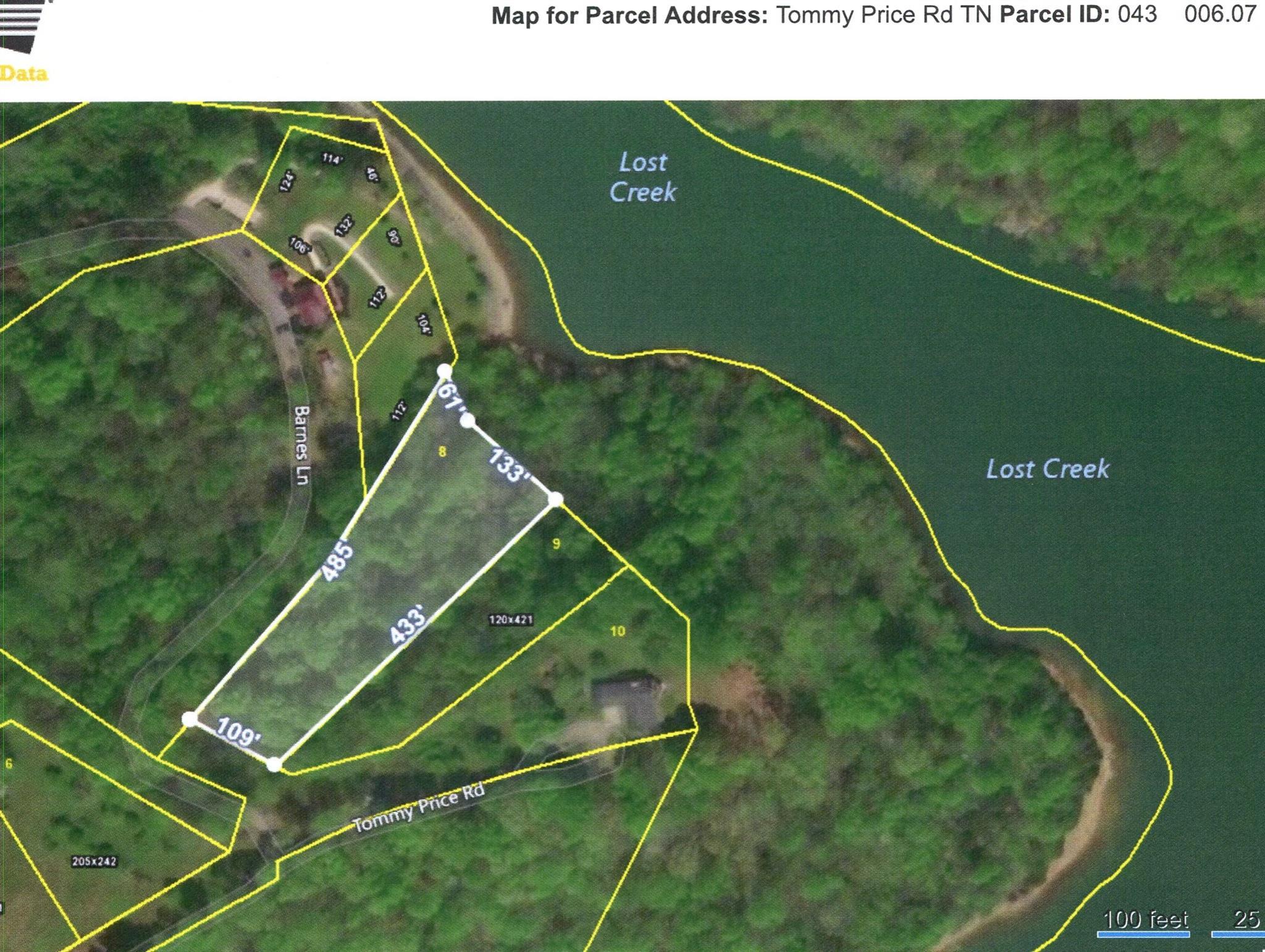 0 Tommy Price Rd Lot 8, Lynchburg, TN 37352 - Lynchburg, TN real estate listing