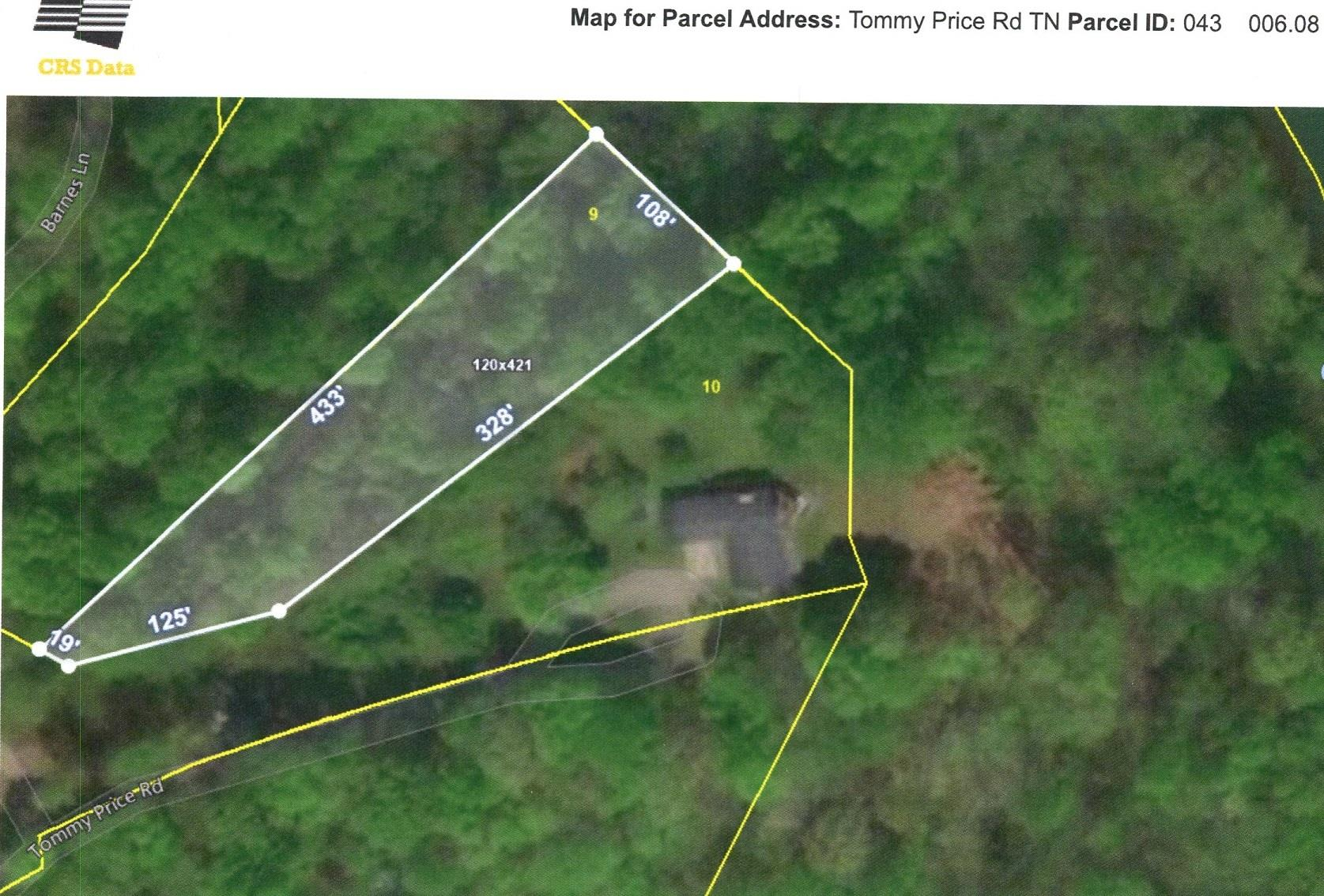 0 Tommy Price Rd Lot 9 Property Photo - Lynchburg, TN real estate listing