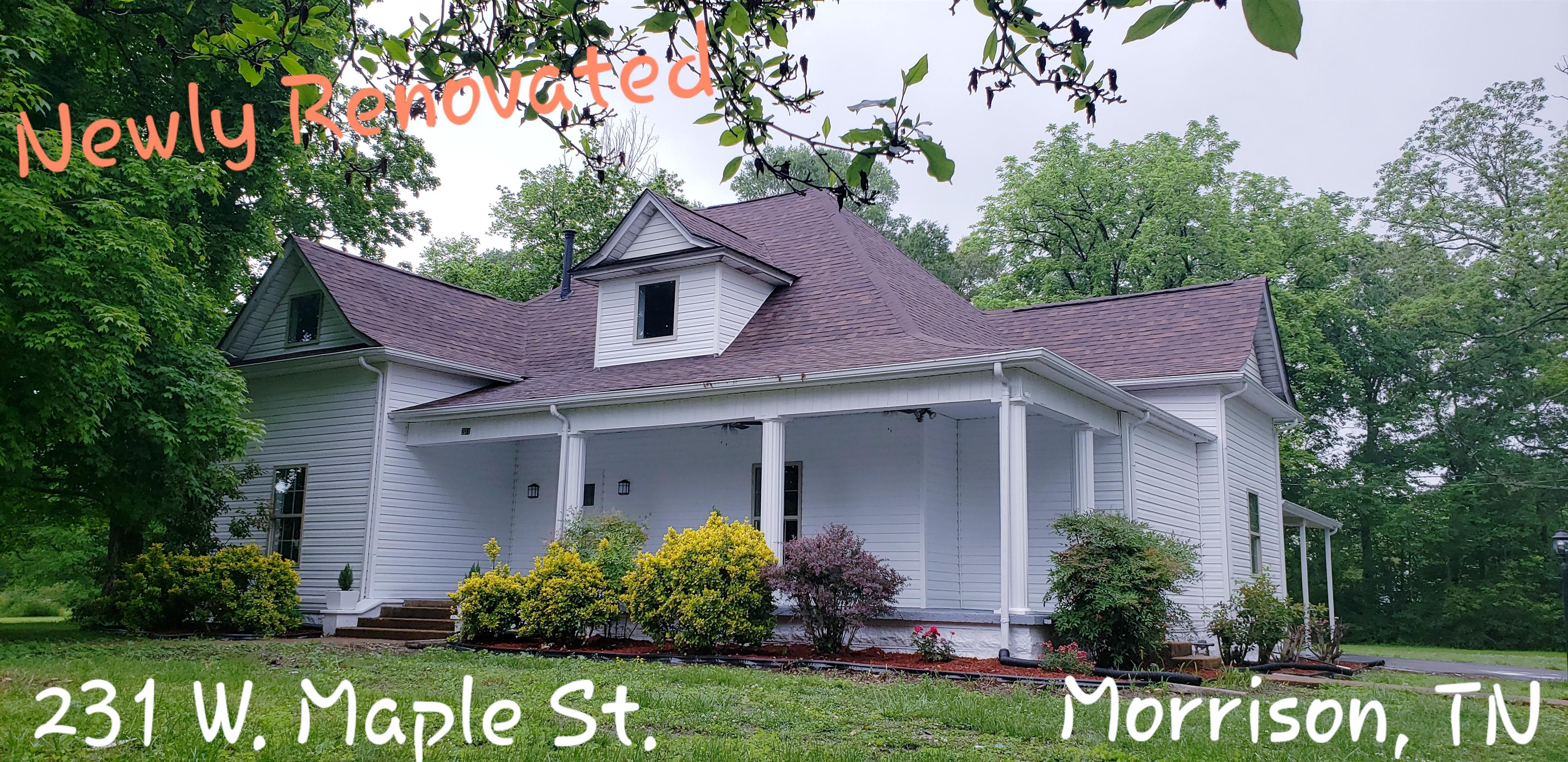 231 W Maple St, Morrison, TN 37357 - Morrison, TN real estate listing
