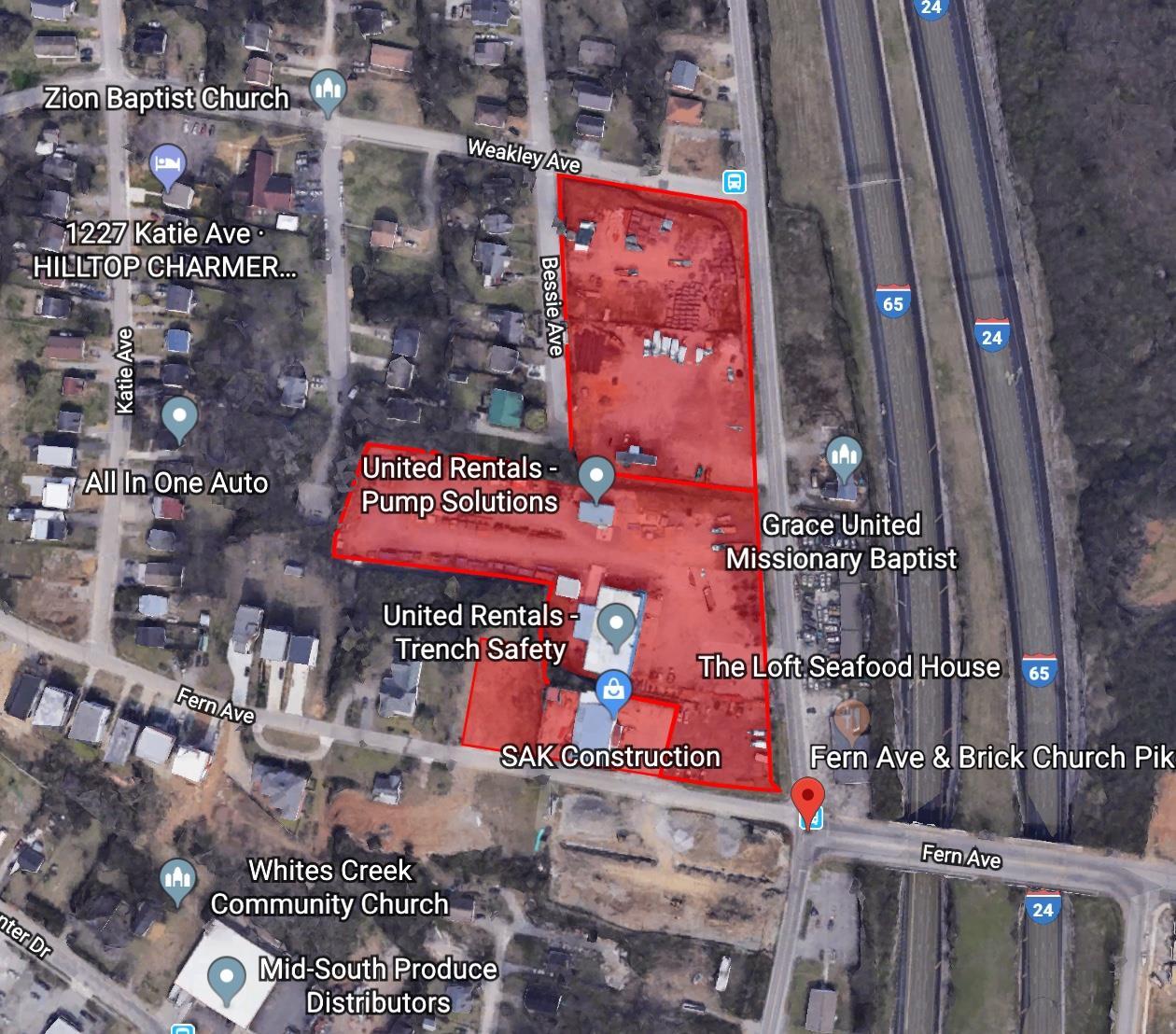 1214 Brick Church Pike Property Photo - Nashville, TN real estate listing