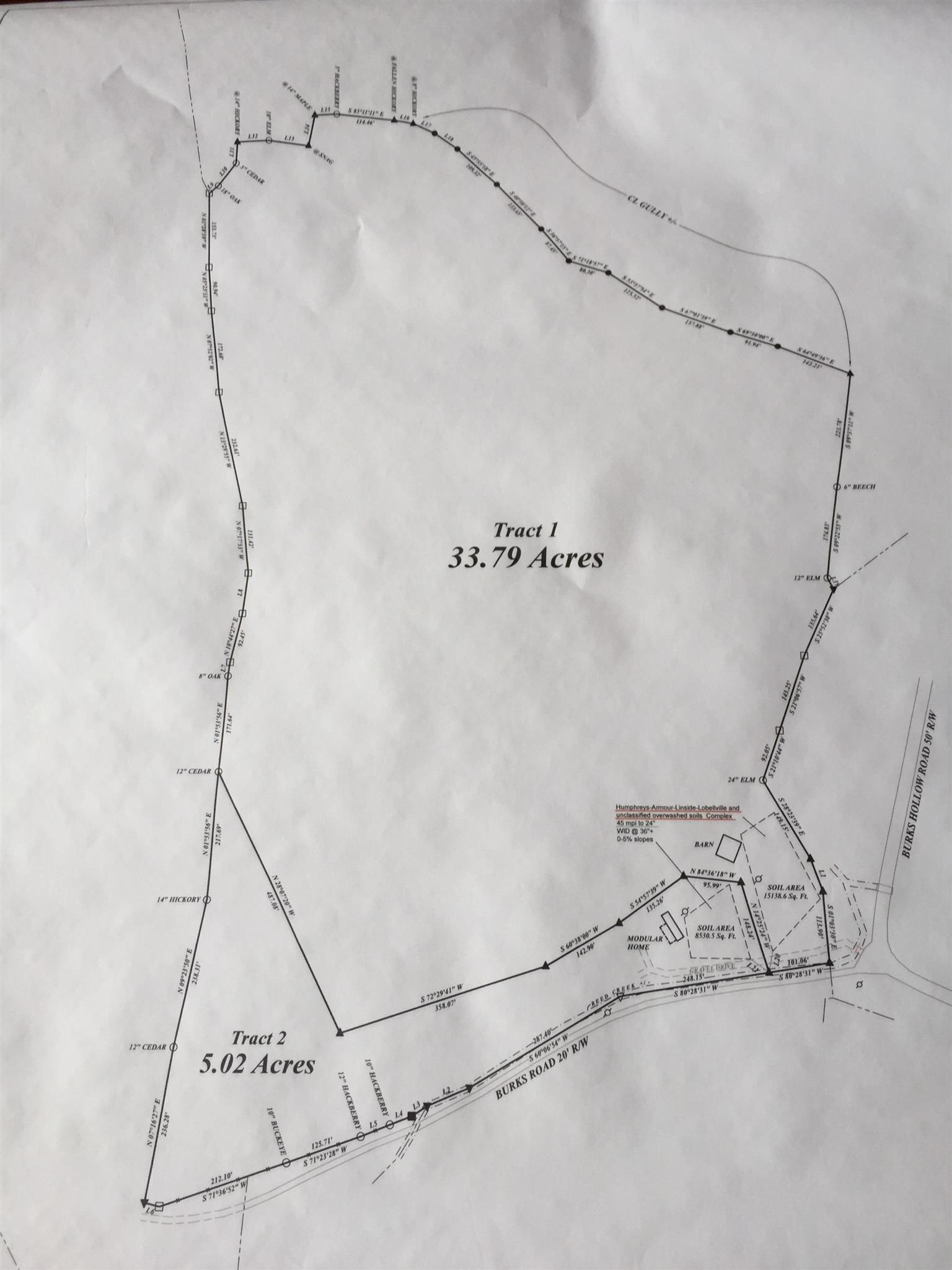7792 Burks Road, Tract 1, Christiana, TN 37037 - Christiana, TN real estate listing