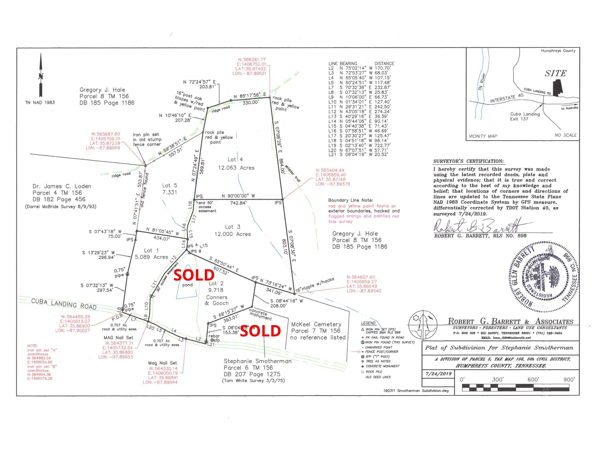 6000 Cuba Landing Rd Lot 5, Waverly, TN 37185 - Waverly, TN real estate listing