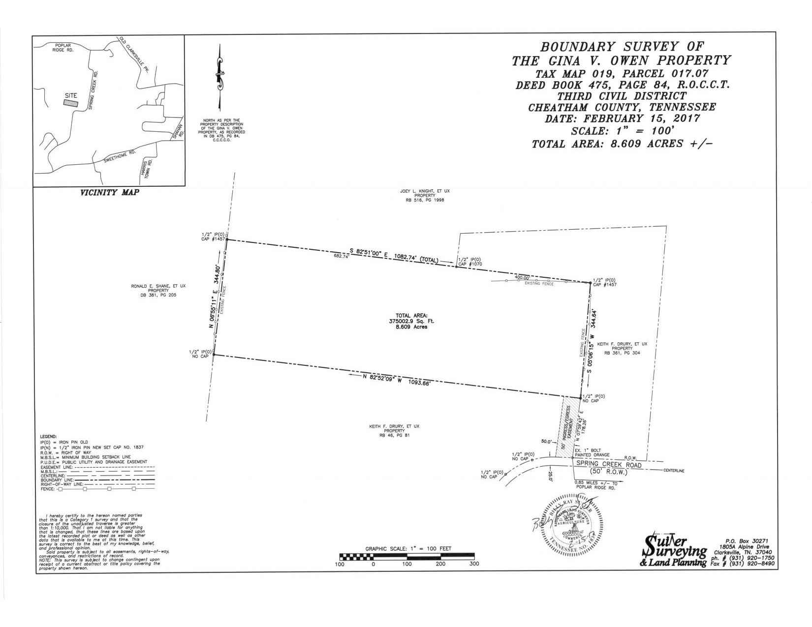 0 Spring Creek Rd. , Chapmansboro, TN 37035 - Chapmansboro, TN real estate listing