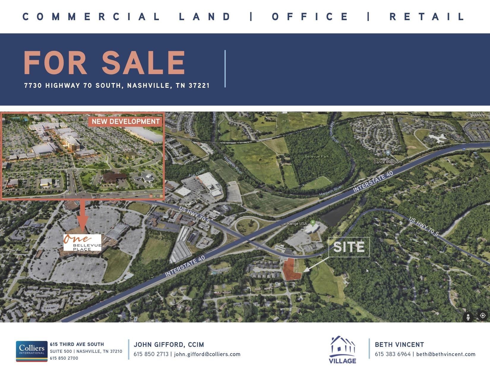 7730 Hwy 70 South, S, Nashville, TN 37221 - Nashville, TN real estate listing