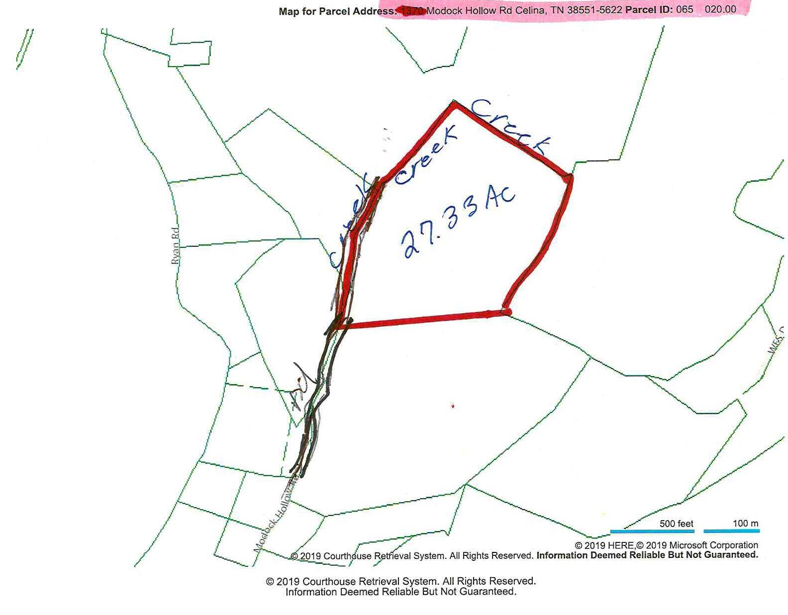27 .33ac Modock Hollow Rd, Celina, TN 38551 - Celina, TN real estate listing