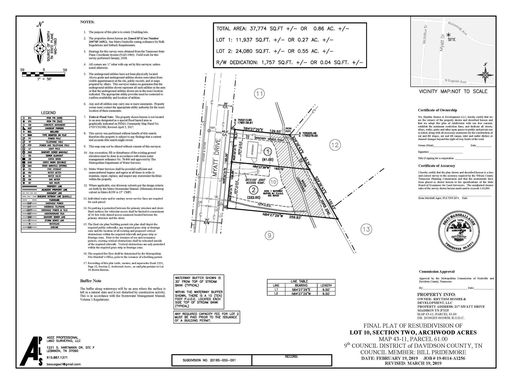 215 Myatt Drive, Madison, TN 37115 - Madison, TN real estate listing