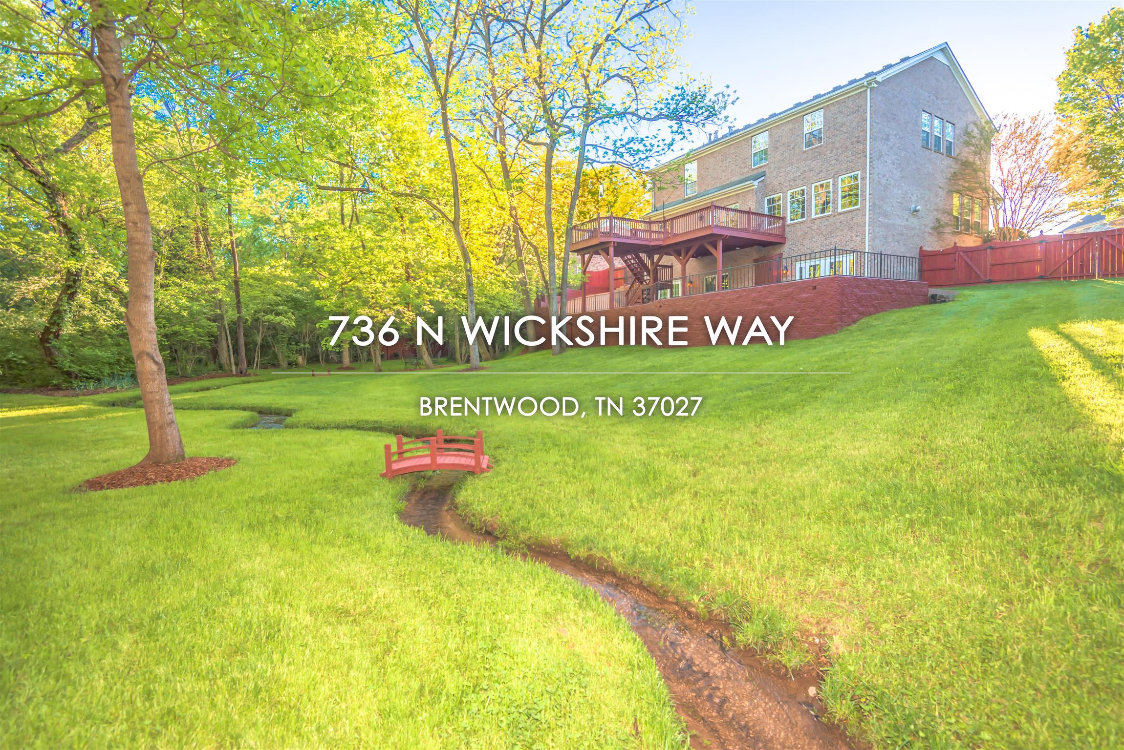 736 N Wickshire Way, Brentwood, TN 37027 - Brentwood, TN real estate listing