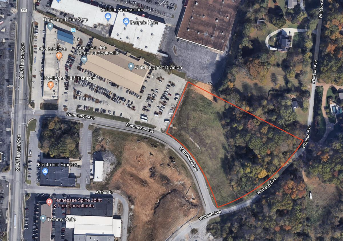 0 Commerce Ave Property Photo - Cookeville, TN real estate listing