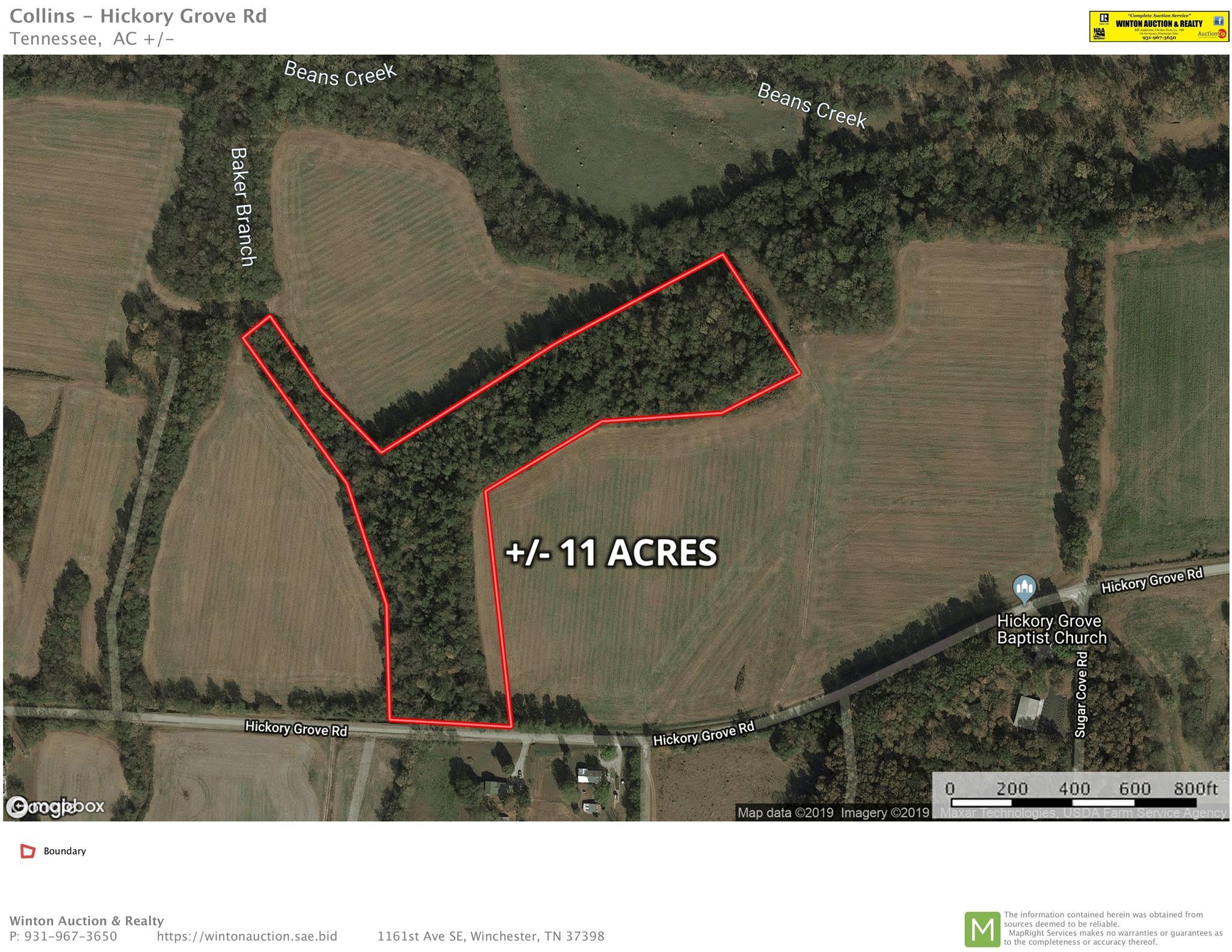 0 Hickory Grove Rd, Huntland, TN 37345 - Huntland, TN real estate listing