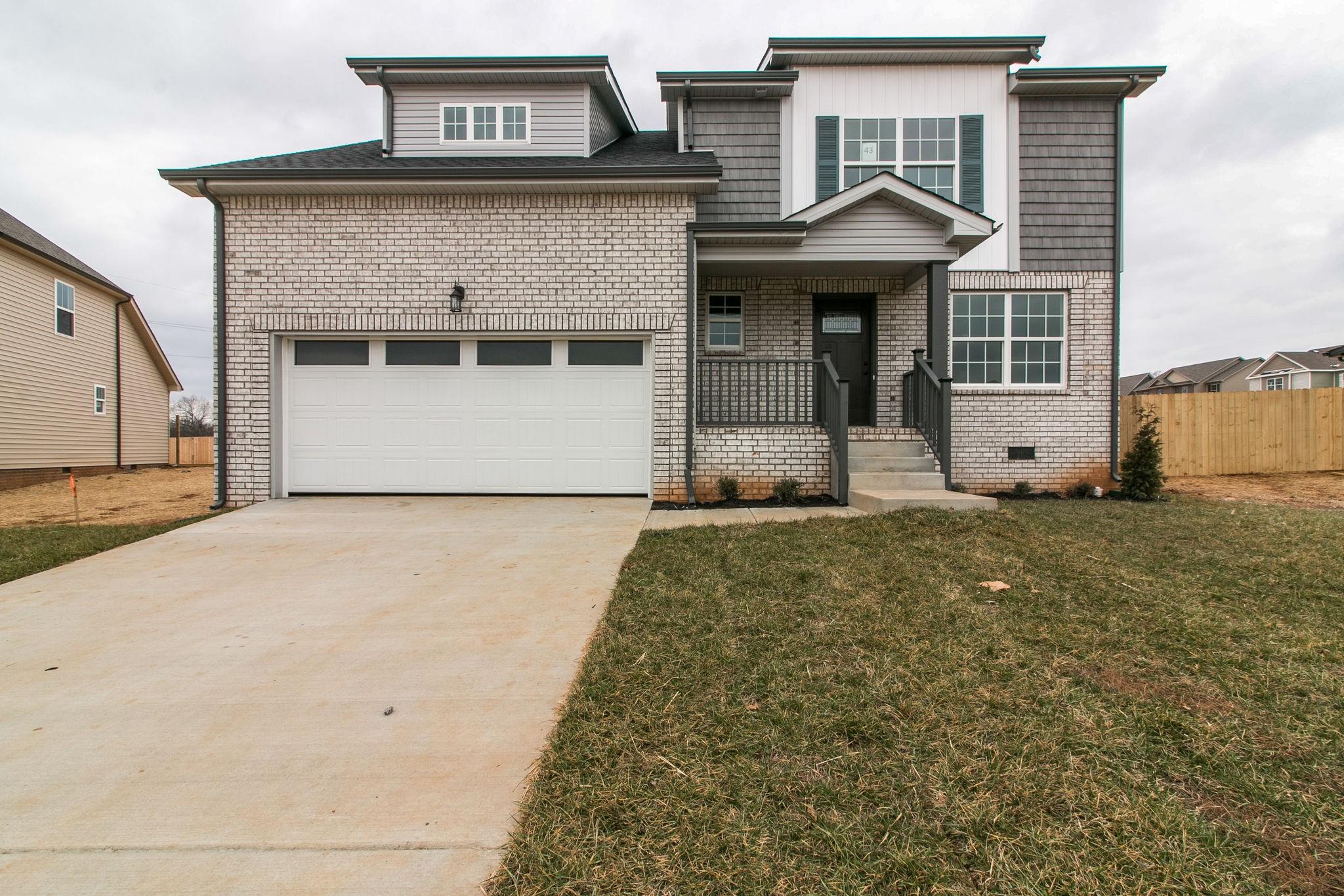 894 Wild Elm Ct (lot 43), Clarksville, TN 37042 - Clarksville, TN real estate listing