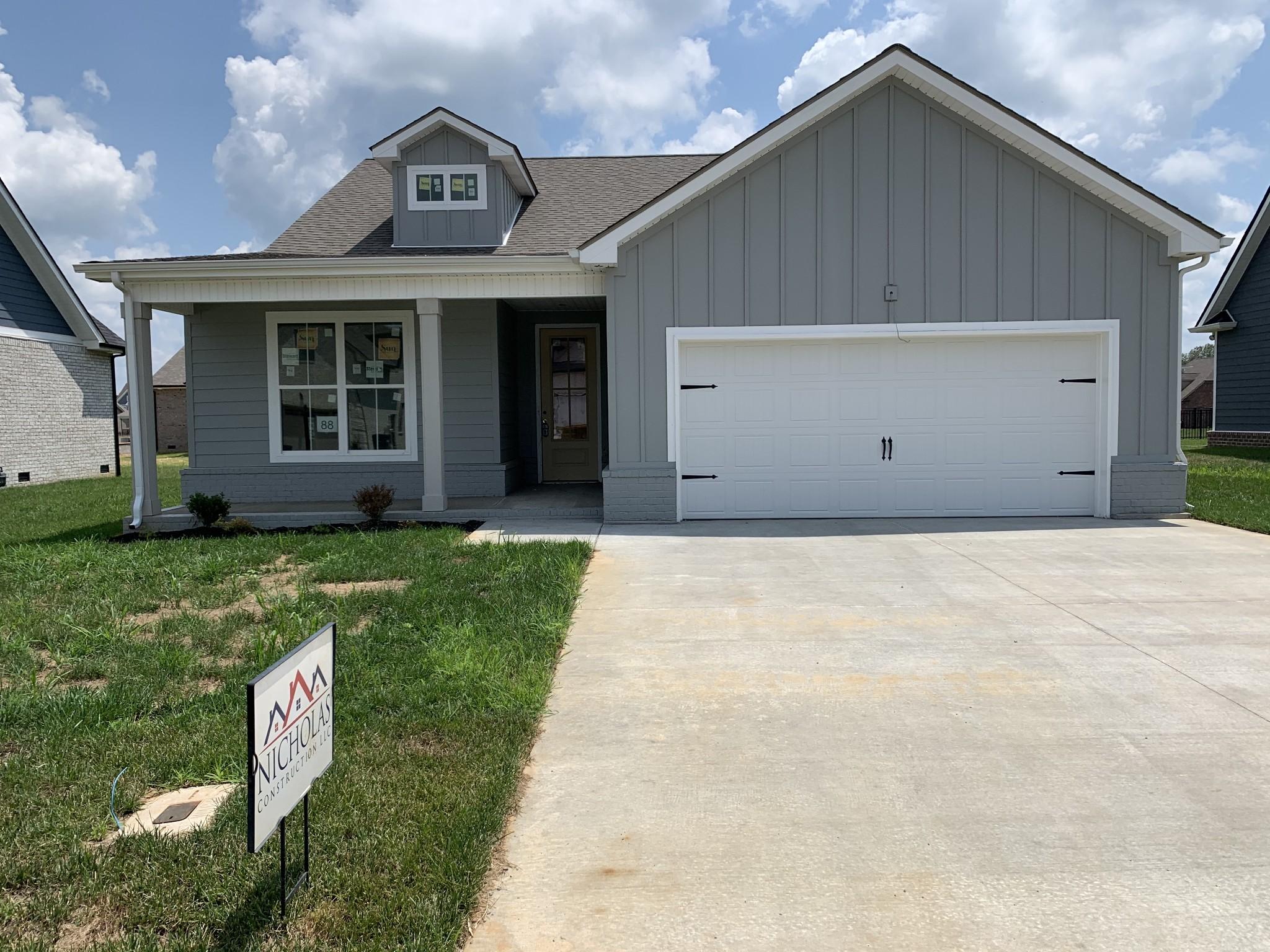 545 Dexter Drive Lot 88, Clarksville, TN 37043 - Clarksville, TN real estate listing